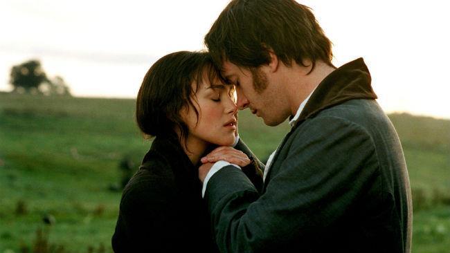 Keira Knightley e Matthew Macfayden nel film Orgoglio e pregiudizio del 2006
