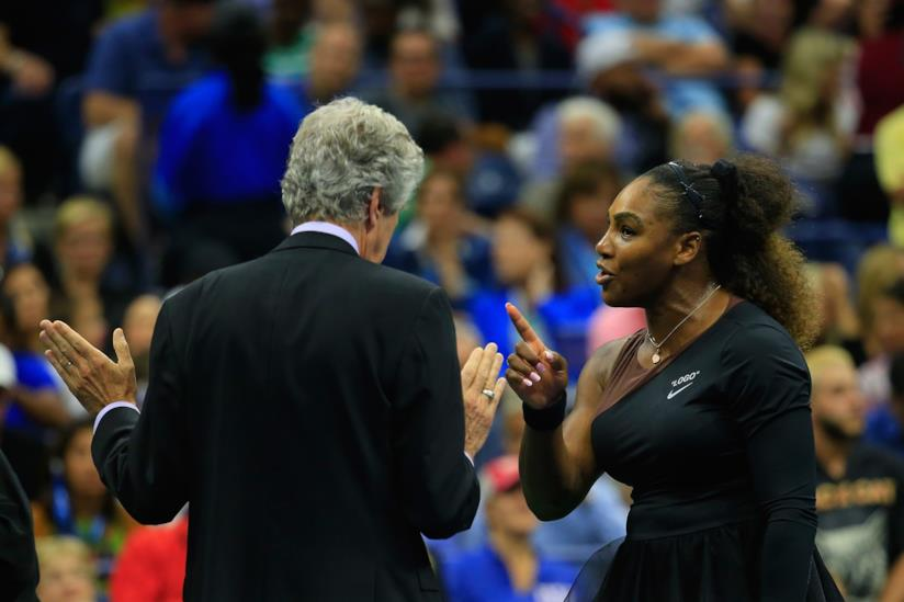 Serena Williams agli U.S.Open