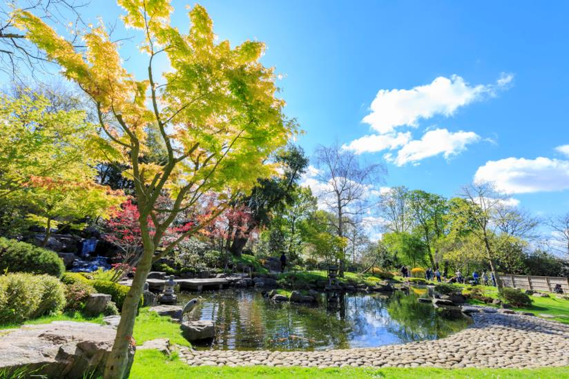 Kyoto Garden, il panorama del giardino giapponese di Londra