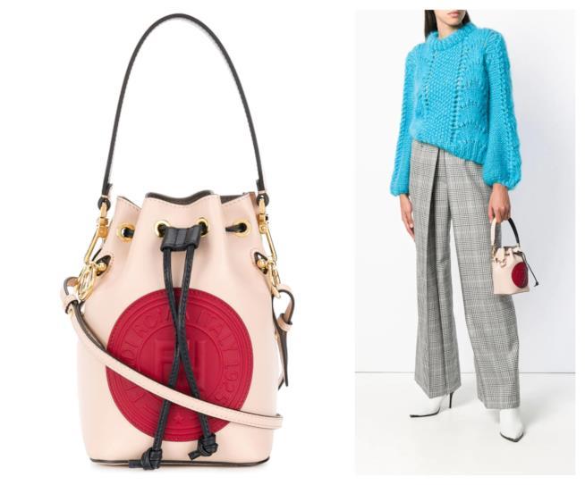 Mini bag a secchiello con tracolla A/I 2018-19