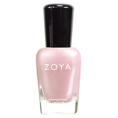 Zoya smalto rosa pallido ricco da glitter