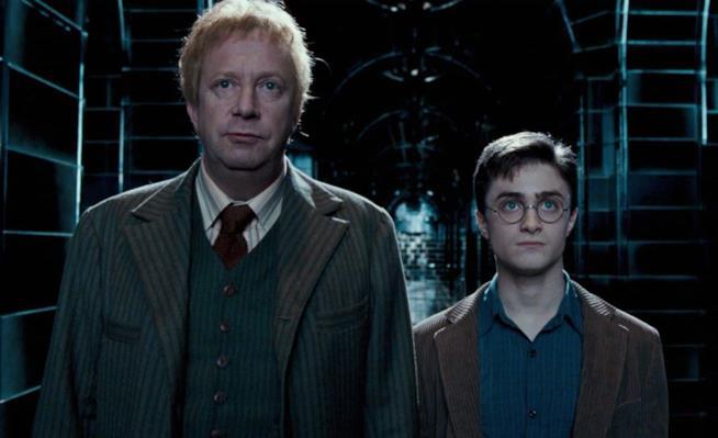 Arthur Weasley e Harry Potter