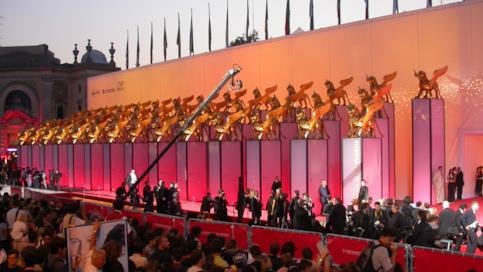 Il Il red carpet della Mostra del Cinema di Venezia