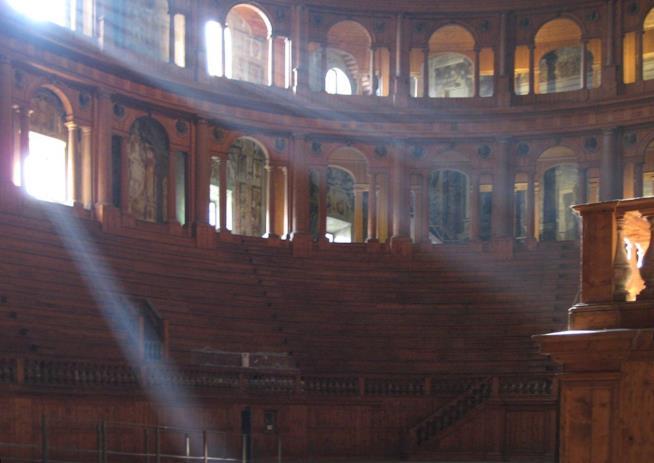 Teatro Farnese a Parma