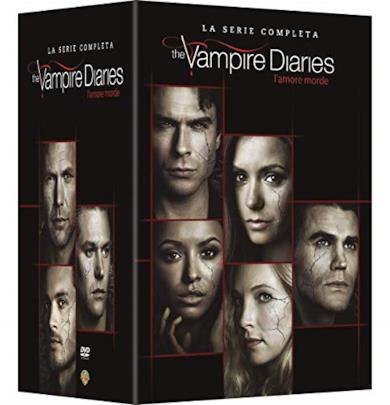 Cofanetto DVD di The Vampire Diaries - Stagioni 1-8