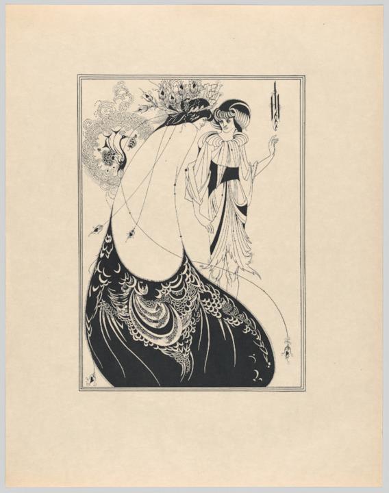 Salomè di Wilde: La gonna di pavone