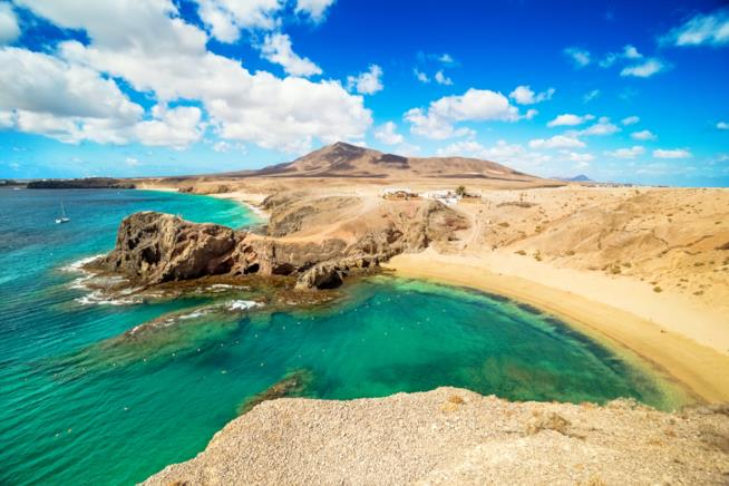 Playa Papagayo alle isole Canarie