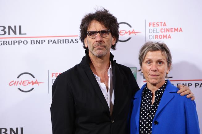 Joel Coen e Frances McDormand al Festival di Roma