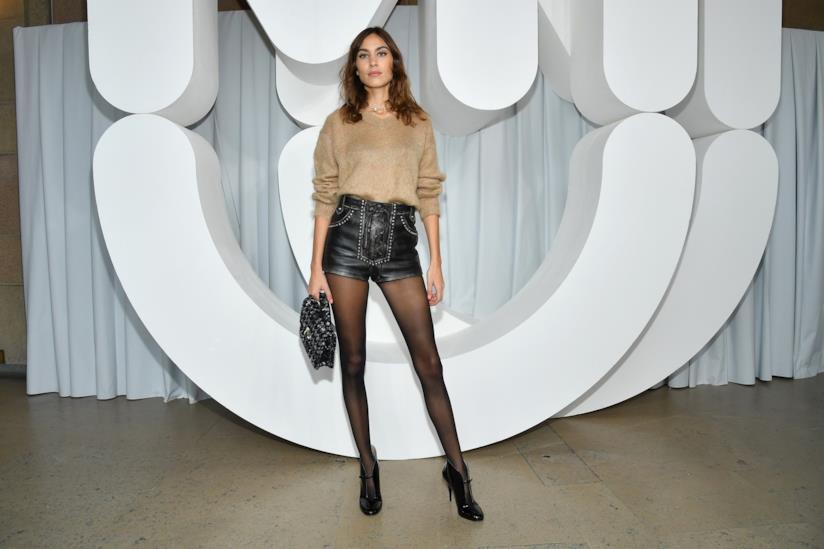 La modella Alexa Chung