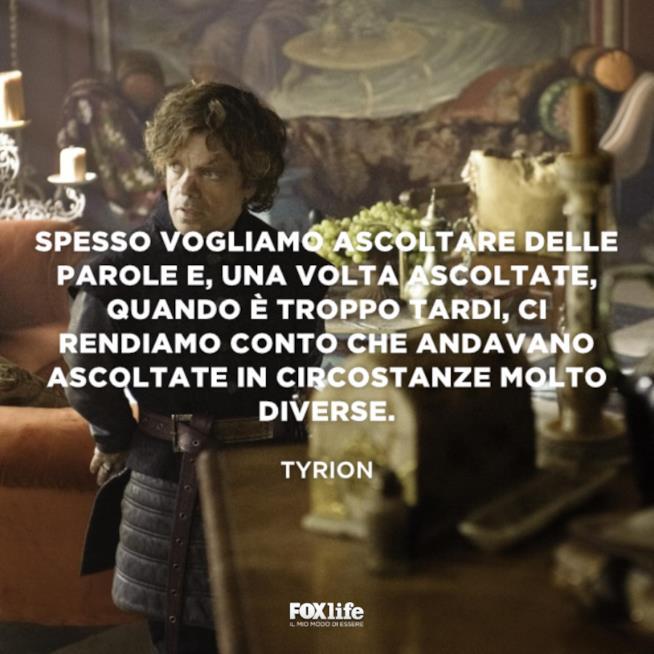 Tyrion in una scena