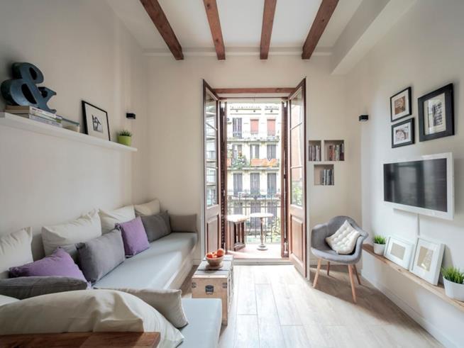 Appartamento di Barcellona affittato su Airbnb