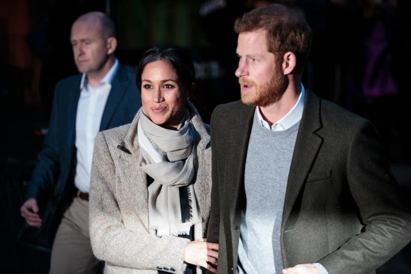 Una recente immagine di Harry e Meghan