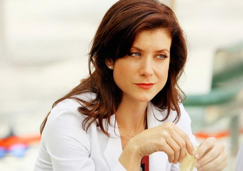 Addison Montgomery in una scena di Grey's Anatomy