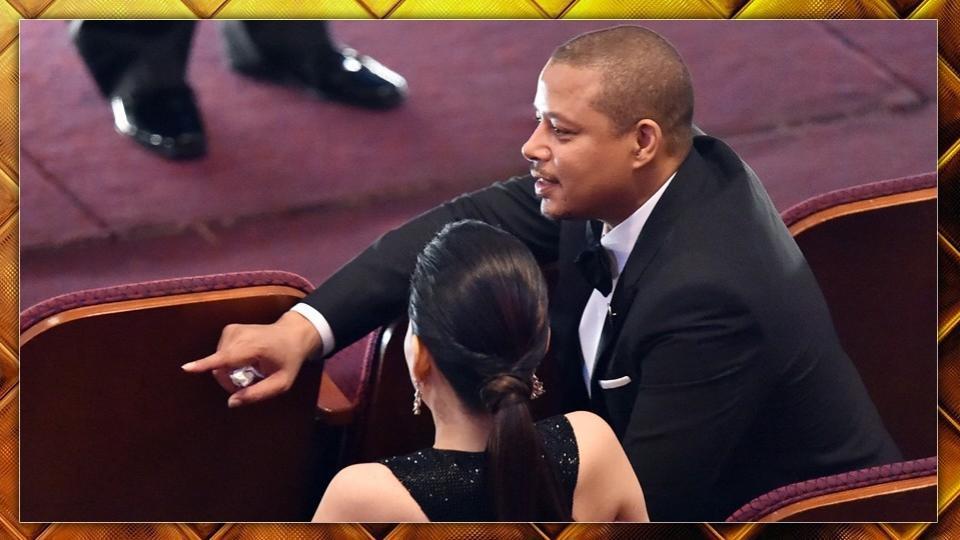 3/7 Howard è stato chiamato sul palco per presentare 3 dei candidati a Miglior film: Whiplash, The Imitation Game e Selma.