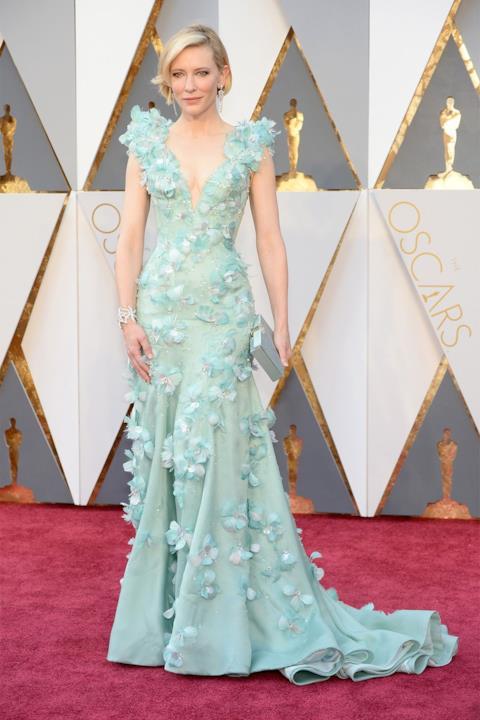 Cate Blanchett sul red carpet degli Oscar