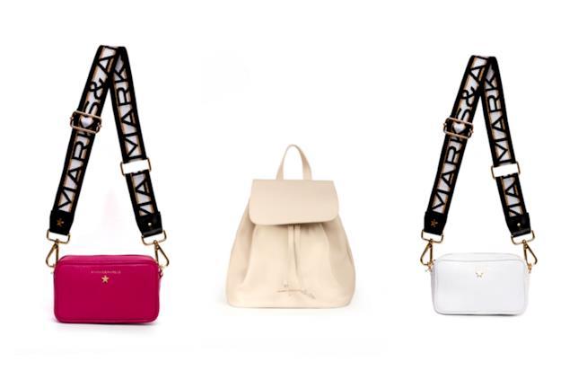 Alessia Marcuzzi  ecco la nuova collezione di borse Marks   Angels 419a2b83f064