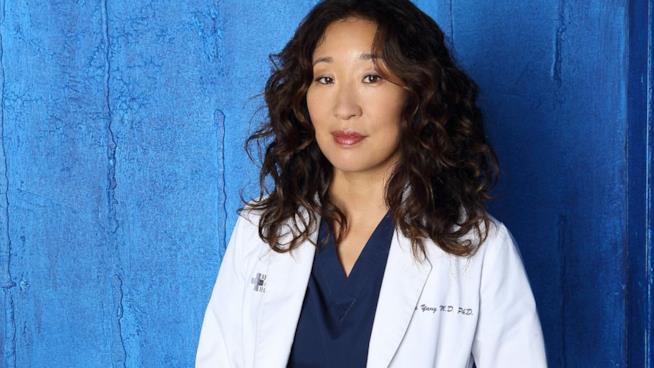 Sandra Oh in un'immagine promozionale di Grey's Anatomy