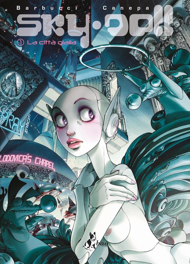 La copertina di Sky Doll. La Città Gialla