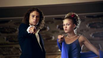Heath Ledger e Julia Styles in 10 cose che odio di te