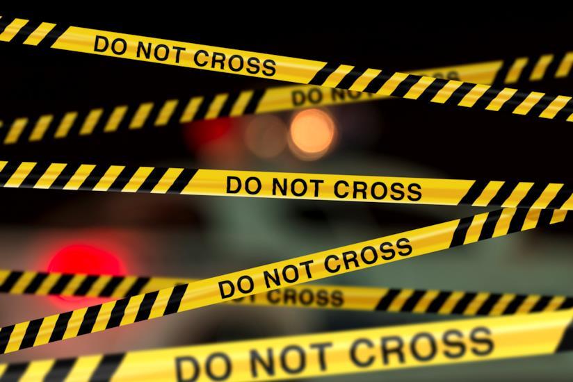 Coppia aggredita: scena del crimine
