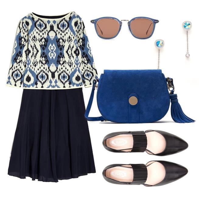Outfit Abito fantasia Blu