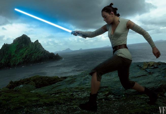 Daisy Ridley è Rey in Star Wars: gli ultimi Jedi