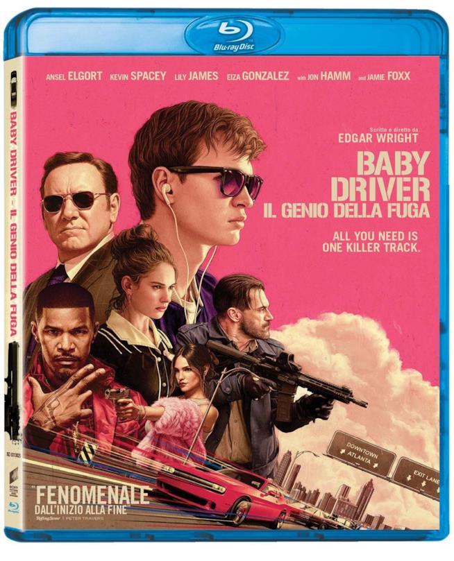 Cofanetto Blu-ray di Baby Driver