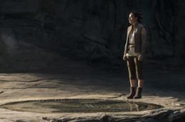 Star Wars Gli Ultimi Jedi, una scena con Rey