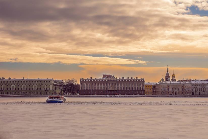 Vista di San Pietroburgo