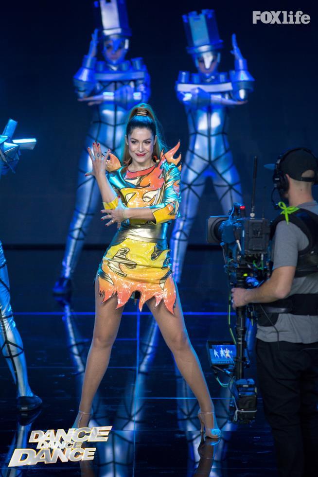 Samanta Piccinetti, esibizione nel quarto serale di Dance Dance Dance 2