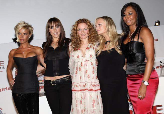 Le Spice Girls prima dello scioglimento