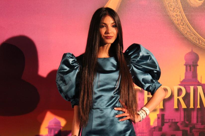 Elisa Maino sul red carpet di Aladdin