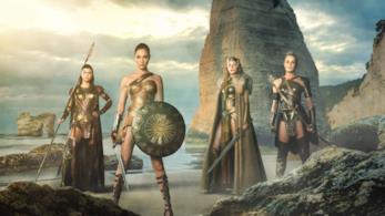 Una scena del film Wonder Woman