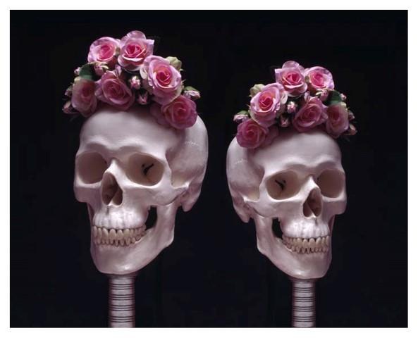 Guccione skulls - Frida Kahlo