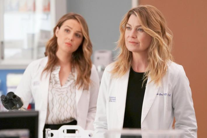 Meredith e Jo in Grey's Anatomy 14x14