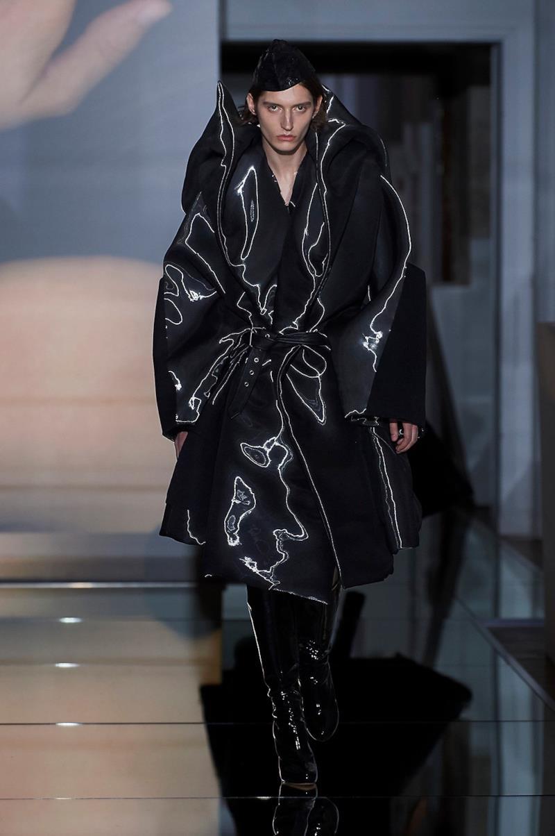 Sfilata MAISON MARGIELA Collezione Alta moda Autunno Inverno 19/20 Parigi - Margiela PO HC RF19 0020