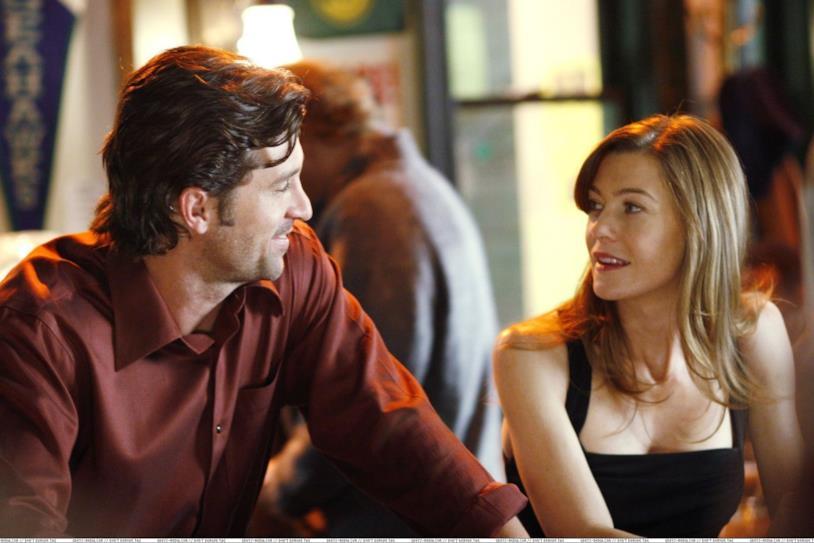 Meredith e Derek si incontrano in un bar nel pilot di Grey's Anatomy