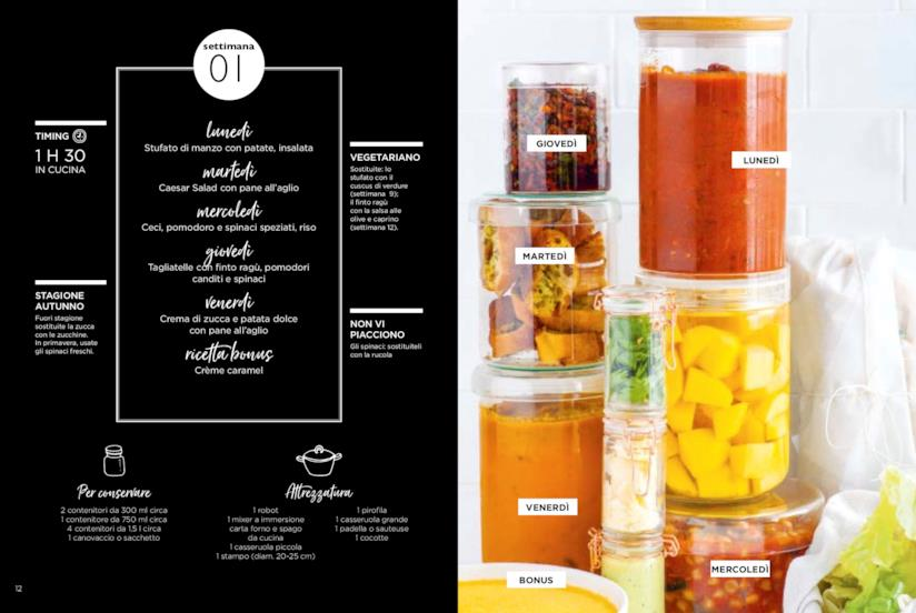 Keda Black: ecco le ricette per una settimana del libro Cucina seriale
