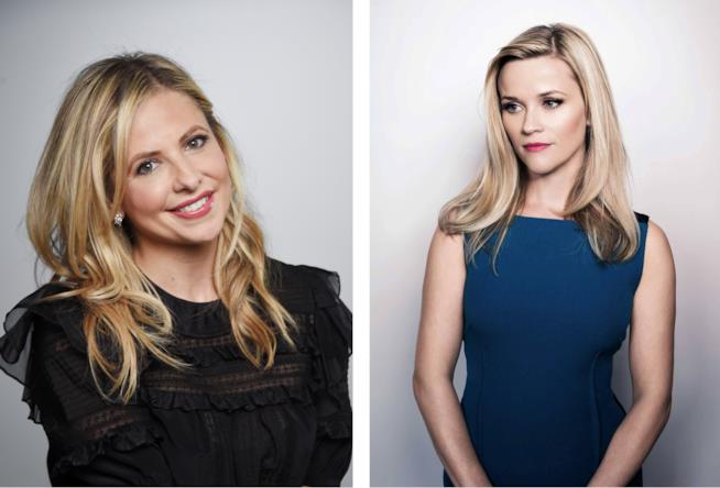 Le attrici Sarah Michelle Gellar e  Reese Witherspoon