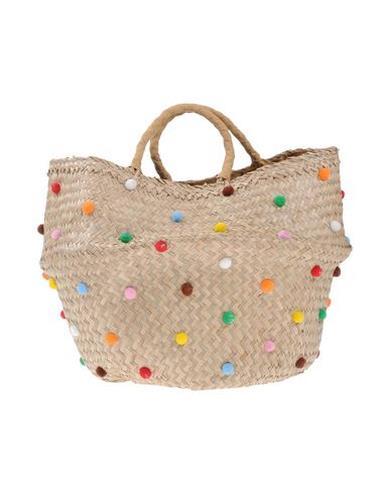 Maxi shopping bag con applicazioni