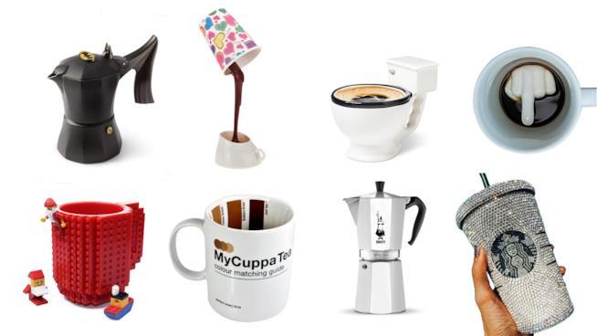 La classifica dei 20 regali unici per gli amanti del caffè