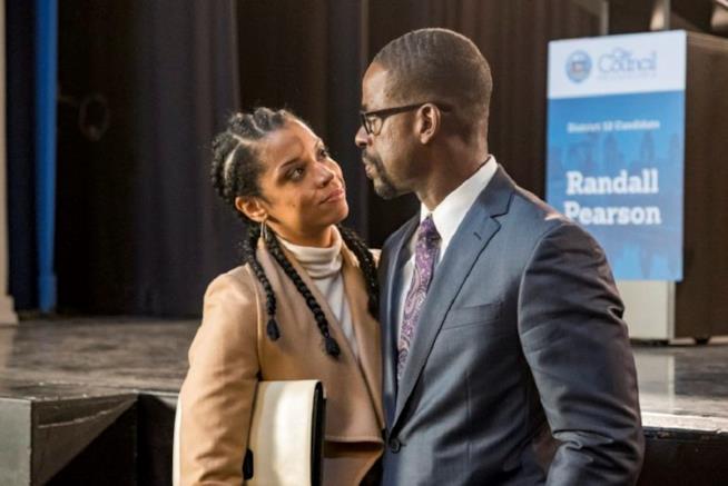 This Is Us: Beth e Randall in un'immagine dalla terza stagione