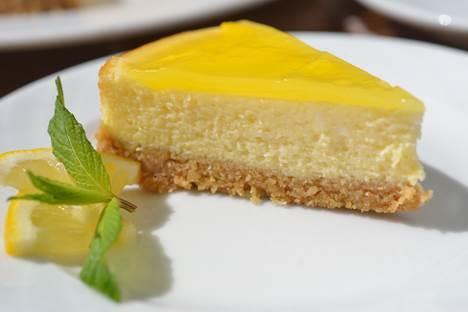 Cheesecake a feddo al limone