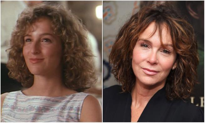 Jennifer Grey prima e dopo il naso rifatto