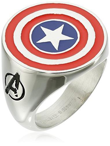 Anello di Captain America Avengers