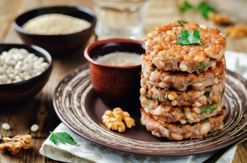 Polpette di legumi e cereali