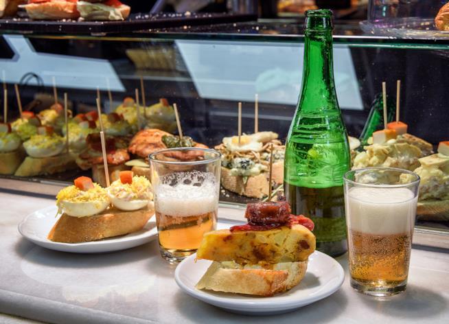 I pinchos, una prelibatezza spagnola