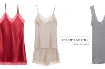 La collezione seta Intimissimi Sublime Silk