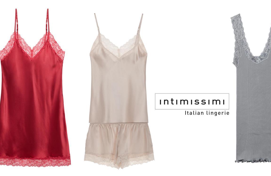 daf319ce35 La collezione seta Intimissimi Sublime Silk
