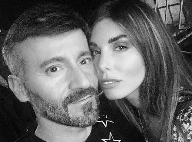 Max Biaggi e Bianca Atzei su Instagram